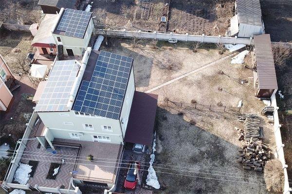 482 - Солнечная электростанция 30 кВт в г. Чернигов под зелёный тариф