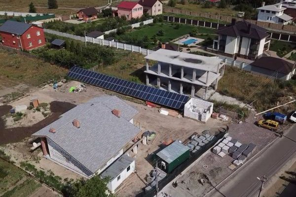 524 - Солнечная станция зеленый тариф украина под ключ