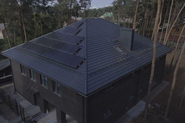 637 - Солнечная станция 10 кВт на собственное потребление для частного дома
