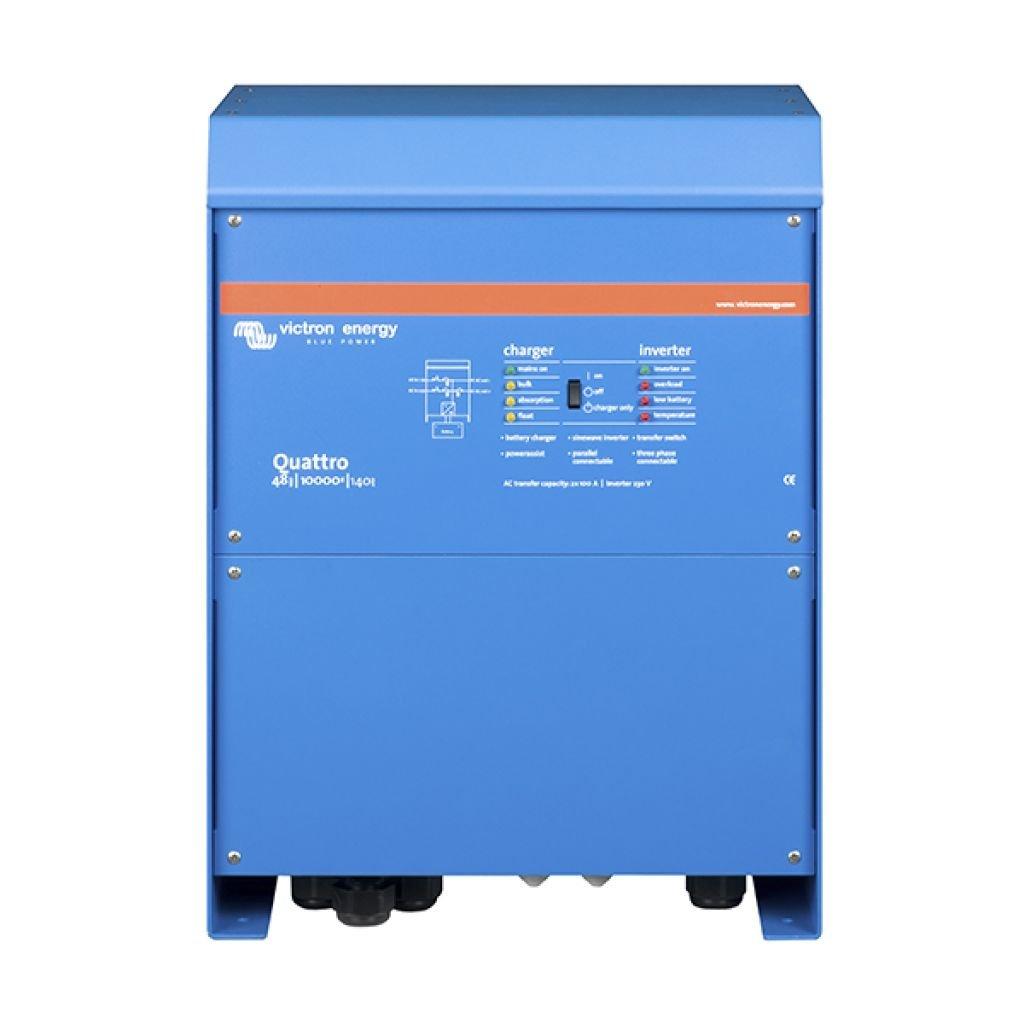 382 - Гібридний інвертор Victron Energy Quattro 48/10000/140-100/100 (QUA481030010)