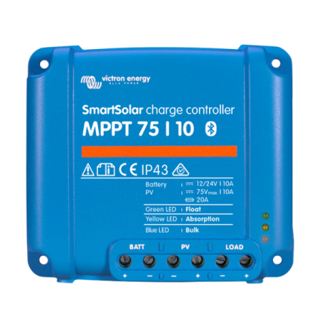241 - Контроллер заряда Victron Energy SmartSolar MPPT 75/10 SCC075010060R