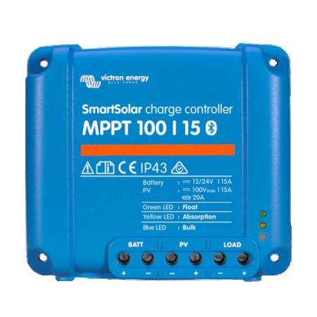 243 - Контроллер заряда Victron Energy SmartSolar MPPT 100/15 SCC110015060R