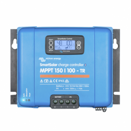 264 - Контроллер заряда Victron Energy SmartSolar MPPT 150/100 SCC115110211