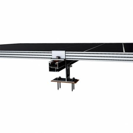 283 - Система крепления Kripter для 10 солнечных панелей на битумную черепицу